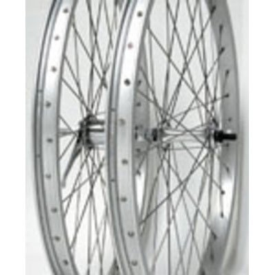 Wheel Master Rear Bicycle Wheel 24 x 2.125 36H, Alloy, Bolt On, Silver