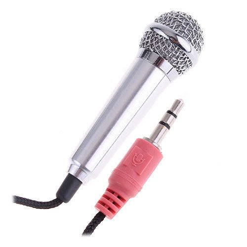 Cute Mini Mic Tiny Microphone For Pc Laptop Skype