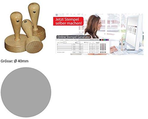 0 01 40mm individueller rundholzstempel probieraktion stempel selbst online gestalten. Black Bedroom Furniture Sets. Home Design Ideas