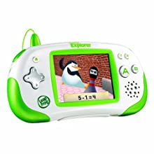 LeapFrog Leapster Explorer Learning Game System Green