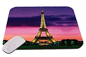Paris At Night Eiffel Tower Mouse Pad