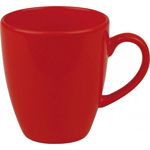 Waechtersbach Microwave and Dishwasher Safe Fun Factory Red Jumbo Cafe Latte Cups (Set of 4)