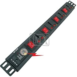 MX 4 SOCKETS SURGE & SPIKE PROTECTOR - 15 AMP - UNIVERSAL SOCKETS MX-3268