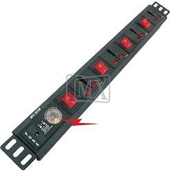 MX 4 SOCKETS SURGE & SPIKE PROTECTOR - 15 AMP - UNIVERSAL SOCKETS MX-3268