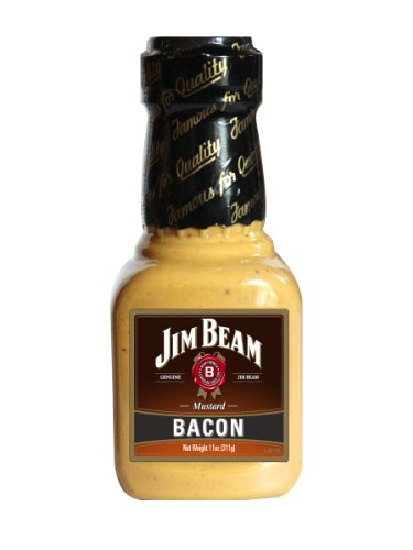 Jim Beam Bacon Mustard (Pack of 6)