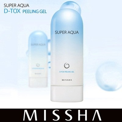 Super Aqua Detoxifying Peeling Gel スーパー アクア ピーリング ジェル