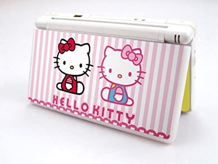 HELLO KITTY-TWIN Decorative Protector Skin Decal Sticker for Nintendo DS Lite