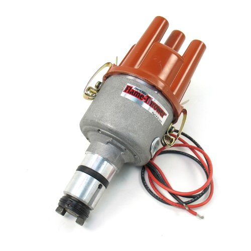 Pertronix D186604 Flame-Thrower VW Type 1 Engine Plug and Play Non Vacuum Cast Electronic Distributor with Ignitor Technology (Engine Vw Buggy compare prices)