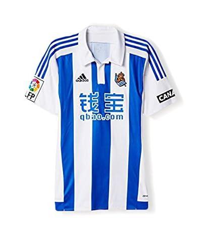 adidas Trikot Real Sociedad Home JSY blau/weiß