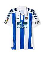 adidas Camiseta de Fútbol Real Sociedad Home JSY (Azul / Blanco)