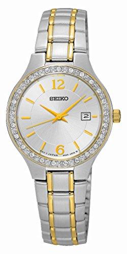 Seiko Quartz Sur783P1 Orologio da Polso Donna
