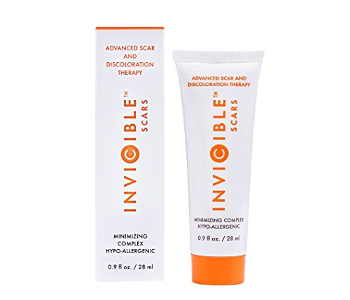 Best Scar Cream for Acne Scars, Old and New Scars, Surgical Scars with Silicone and 17% Vitamin C