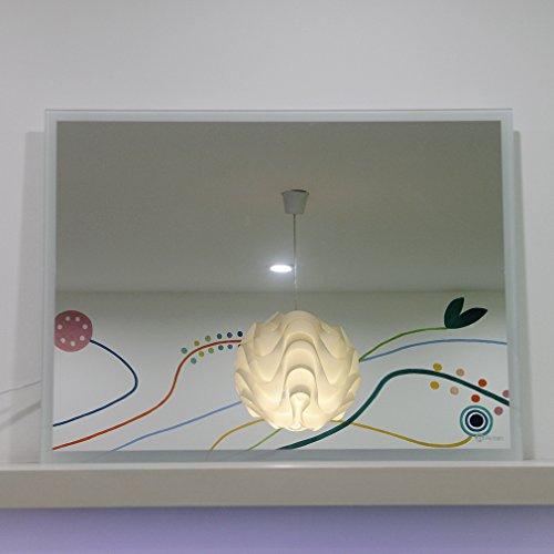 anten 19w 6000k ip65 led badspiegel wandspiegel lichtspiegel 80 cm x 60 cm. Black Bedroom Furniture Sets. Home Design Ideas