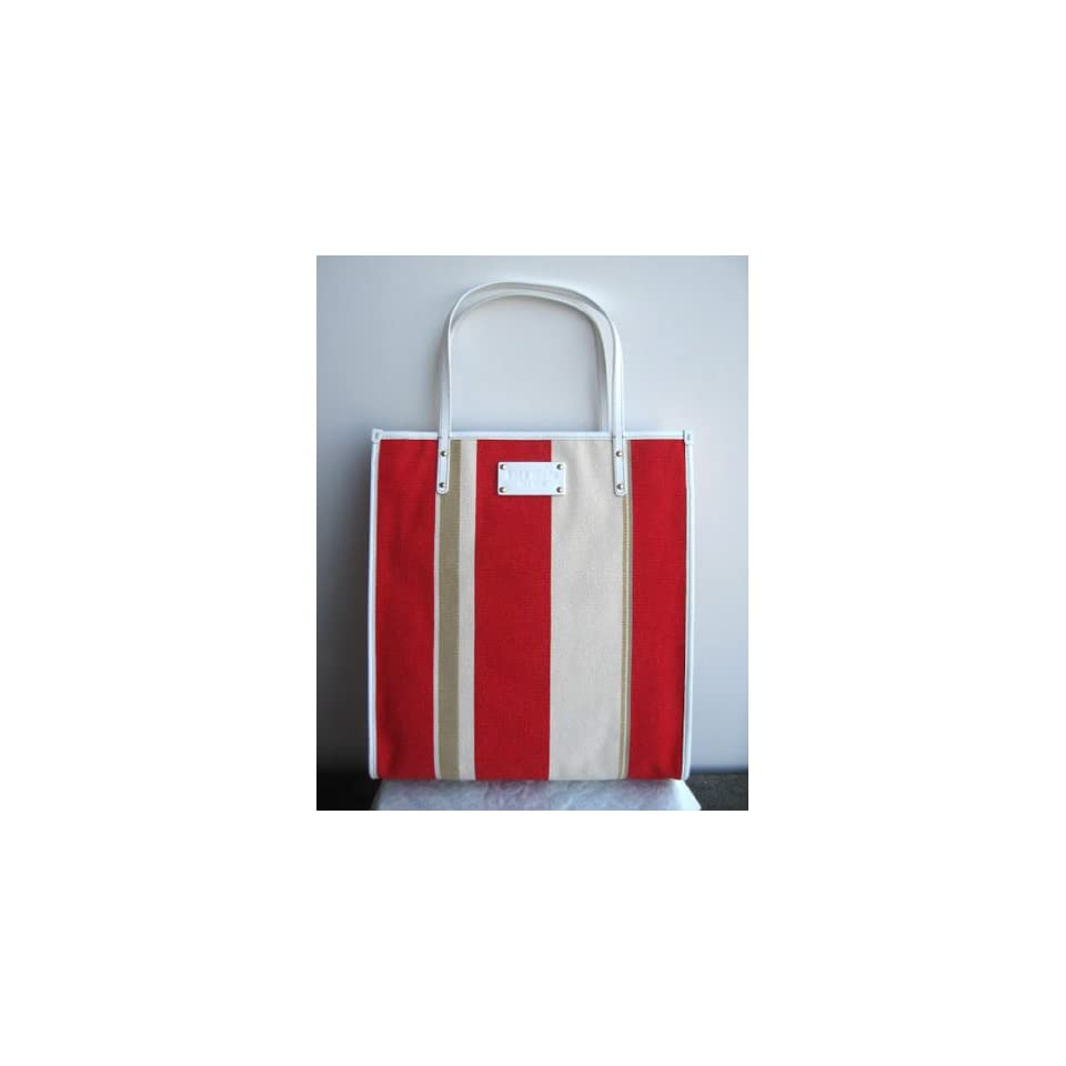 Kate Spade Griffen Rose Hill Stripe Book Bag Tote
