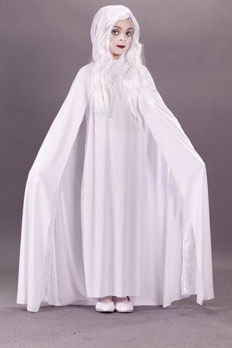 Gossamer Ghost Child Costume (Medium)