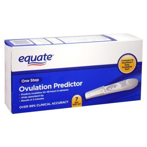 Equate - Ovulation Predictor, One Step, 7 Day Test Kit (Compare to Clearblue) by Wal-Mart Stores, Inc. [並行輸入品]