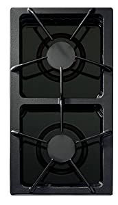 Jenn-Air JGA8150ADB Gas 2-Burner Module Black : Black