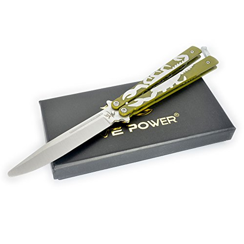 """5"""" Inch Classic Scorpion Practice Knife Trainer (No Offensive Blade)"""