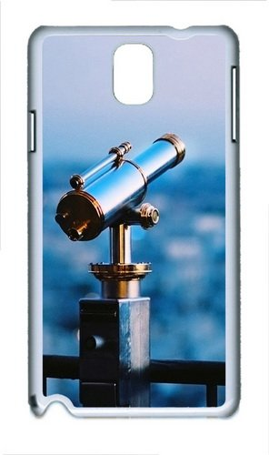 Astronomical Telescope Polycarbonate Hard Case Cover For Samsung Galaxy Note Iii/ Note 3 / N9000 White
