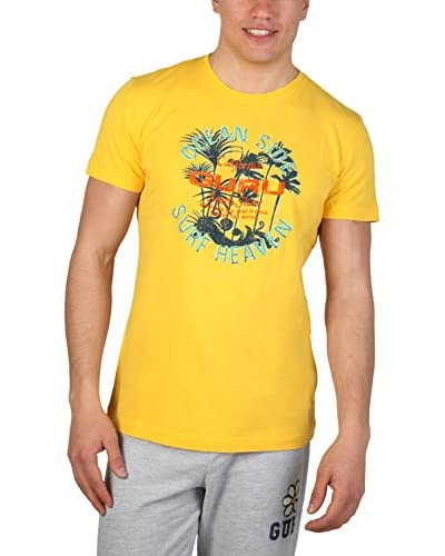 Guru Camiseta Manga Corta Ssgts1664 Amarillo