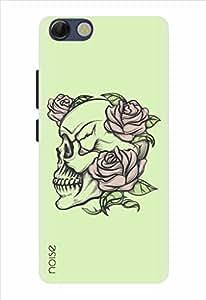 Noise Designer Printed Case / Cover for Panasonic P55 Novo / Graffiti & Illustrations / Tattoo Style Skull