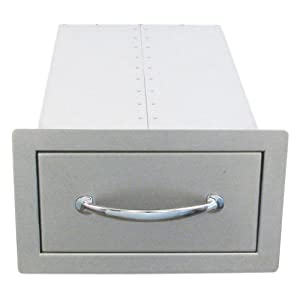 Sunstone Grills Sunstone Grills 14 In. Flush Single Access Drawer from Texas BBQ Wholesalers