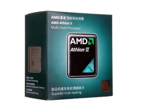 AMD Athlon II X2 270 Processor - 3.4 GHz, Socket AM3, AMD64 Technology, Retail Packaged
