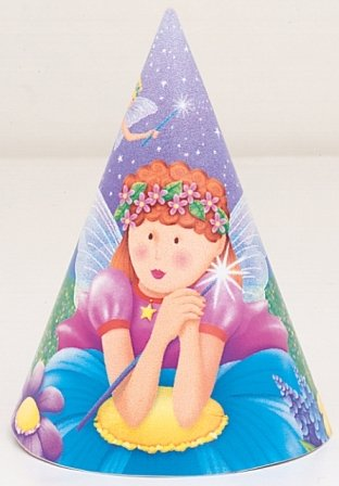 Fairy Princess Party Hats (8 Count) - 1