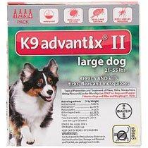 K9 Advantix II (21 to 55 lbs- 4 Pack)