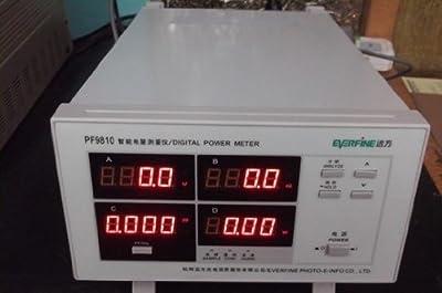 Gowe® Everfine Pf9811 Digital Power Meter , Harmonic Analyzer