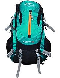 Himalayan Adventures 40 Ltrs Green Backpack/Rucksack/Travelling Bag/Hiking Bag/Adventure Bag/Camping Bag With...