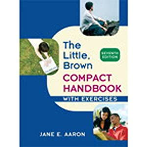 VangoNotes for The Little, Brown Compact Handbook with Exercises, 7/e | [Jane E. Aaron]