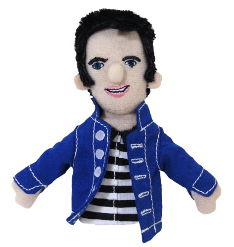 Elvis Presley Finger Puppet and Refrigerator Magnet - By The Unemployed Philosophers Guild