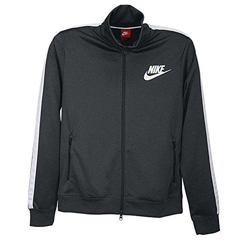 Nike Boys Futura Athletic Track/Warmup Jacket Anthracite/White/Black (7)