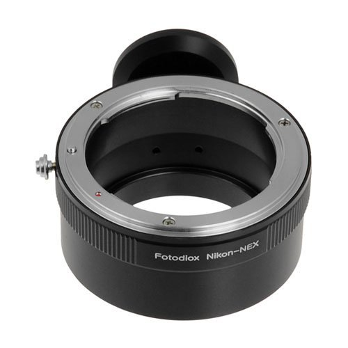 Fotodiox Lens Mount Adapter -- Nikon Lens to Sony NEX E-Series Camera