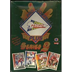 1992 Pacific NFL Pro Football Series 2 Cards Box of 36 Unopened Packs by Upper Deck