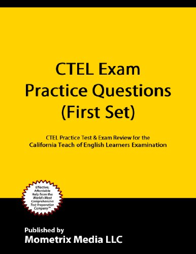 California Teacher Of English Learners CTEL