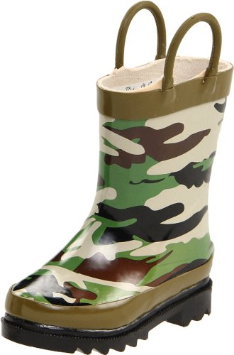 Western Chief Camoflage Rain Boot (Toddler/Little Kid/Big Kid),Camoflage,7 M Us Toddler front-899828