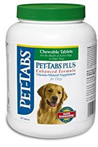 VIRBAC - PET-TABS PLUS FOR DOGS 365 CT