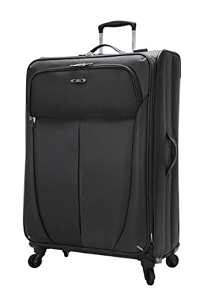 Skyway Luggage Mirage Ultralite 28-Inch 4 Wheel Expandable Upright, Black, One Size
