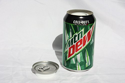 SODA CAN 12oz DIVERSION SAFE STASH SECRET HIDDEN STORAGE (MOUNTAIN DEW) (Secret Soda Can compare prices)