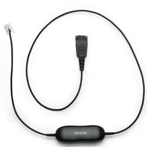 Jabra Gn1216 Smartcord - Coiled Headset Cable For Avaya Deskphones