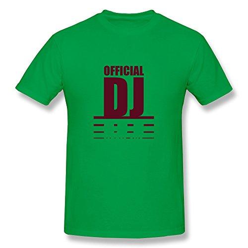 Dingding Men'S Official Dj Design Large O-Neck Tee Shirt
