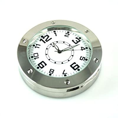 Spy Clock Camera /Hidden Pinhole Video Recorder Nanny Cam + Motion Detection Mode