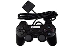 Digital Gaming World Wired Controller/Joystick For Sony PS2 (Black Color)