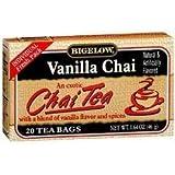 Bigelow B79593 Bigelow Special Blend Vanilla Chai Tea -6x20 Bag