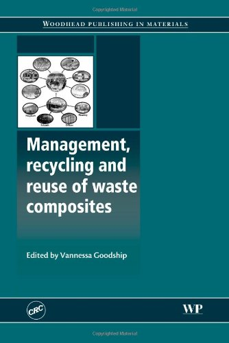 Management, Recycling And Reuse Of Waste Composites (Woodhead Publishing Series In Composites Science And Engineering)