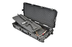 SKB Ultimate Watertight Double Bow Rifle Case, black by SKB