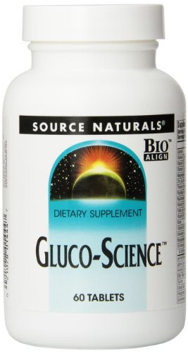 Source Naturals Gluco-Science, 60 Tablets
