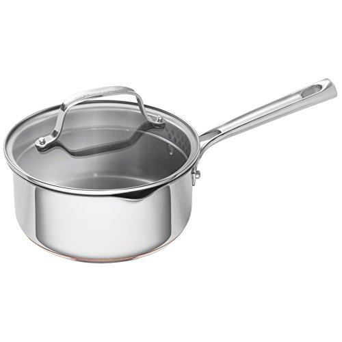 Emeril Lagasse Stainless Steel Copper Core Saucepan, 2 quart, Silver (Emerils Cookware compare prices)